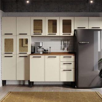 Cozinha-Completa-Bertolini-Origens-Aco-4-Pecas-Branco/Areia