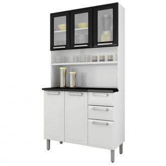 kit-cozinha-i3vg2-105-regina-6-portas-3-com-vidro-2-gavetas-itatiaia-branco-preto-9370784